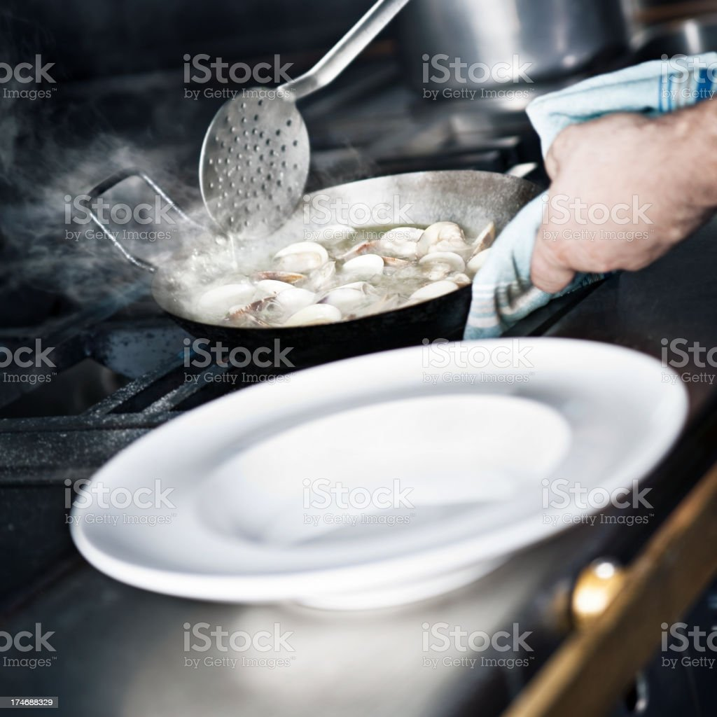 Clams royalty-free stock photo