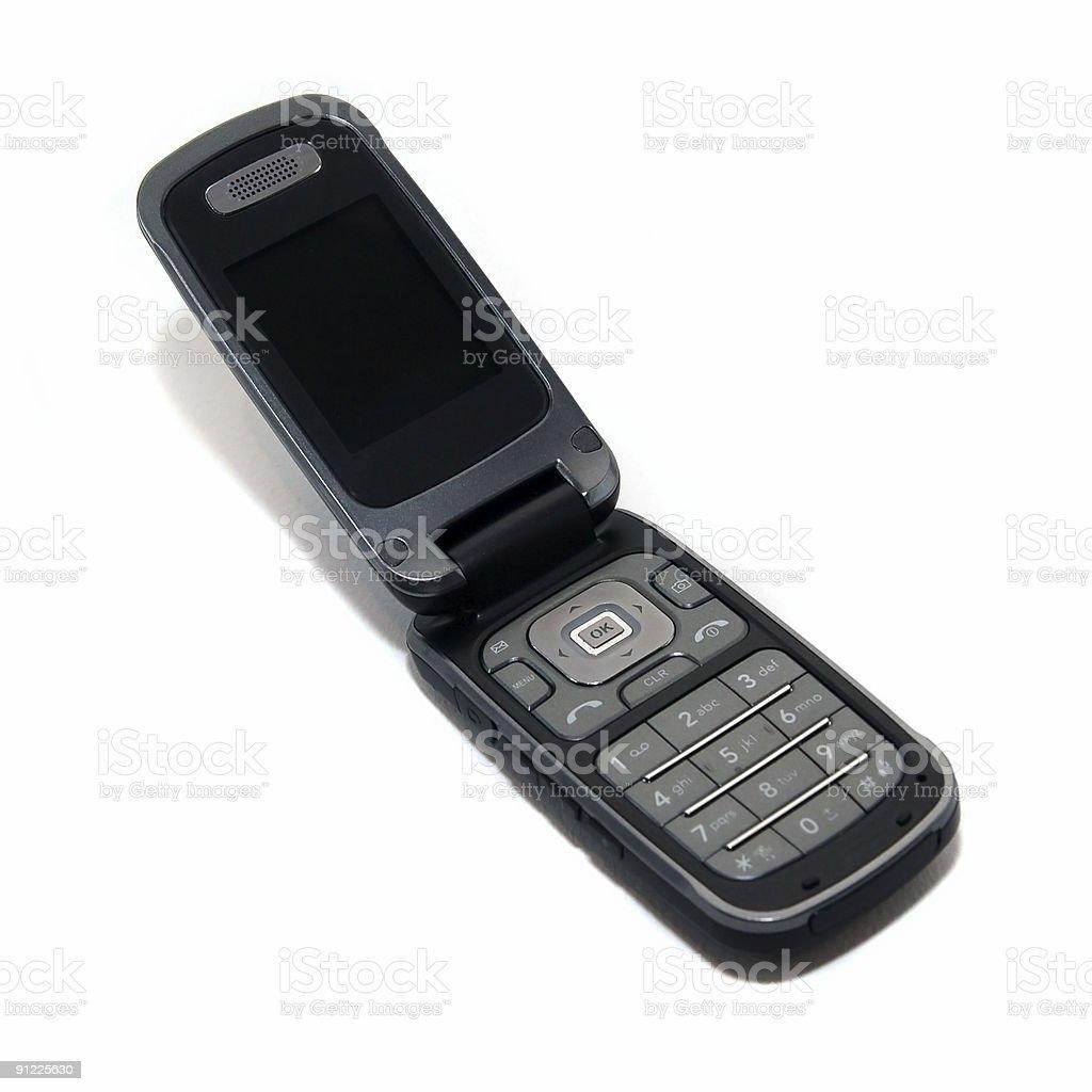Clamshell phone stock photo