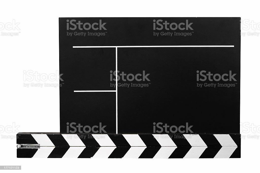 Clapboard w/ Path stock photo