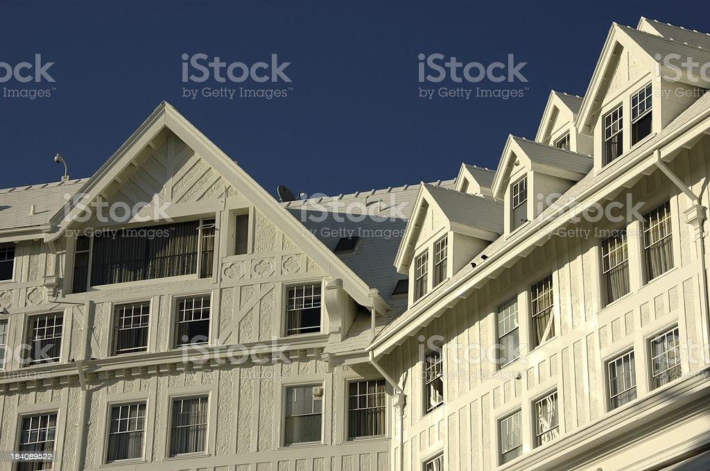 Claremont Resort @ Berkeley (California. USA) stock photo