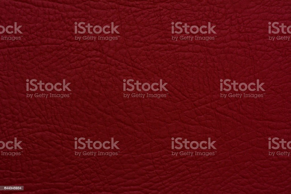 Claret red leather stock photo