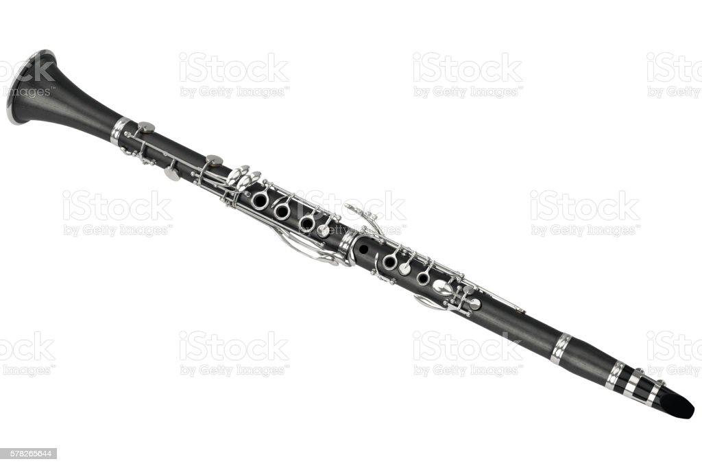 Clarinet musical equipment stock photo