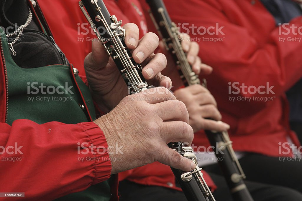 Clarinet Players royalty-free stock photo