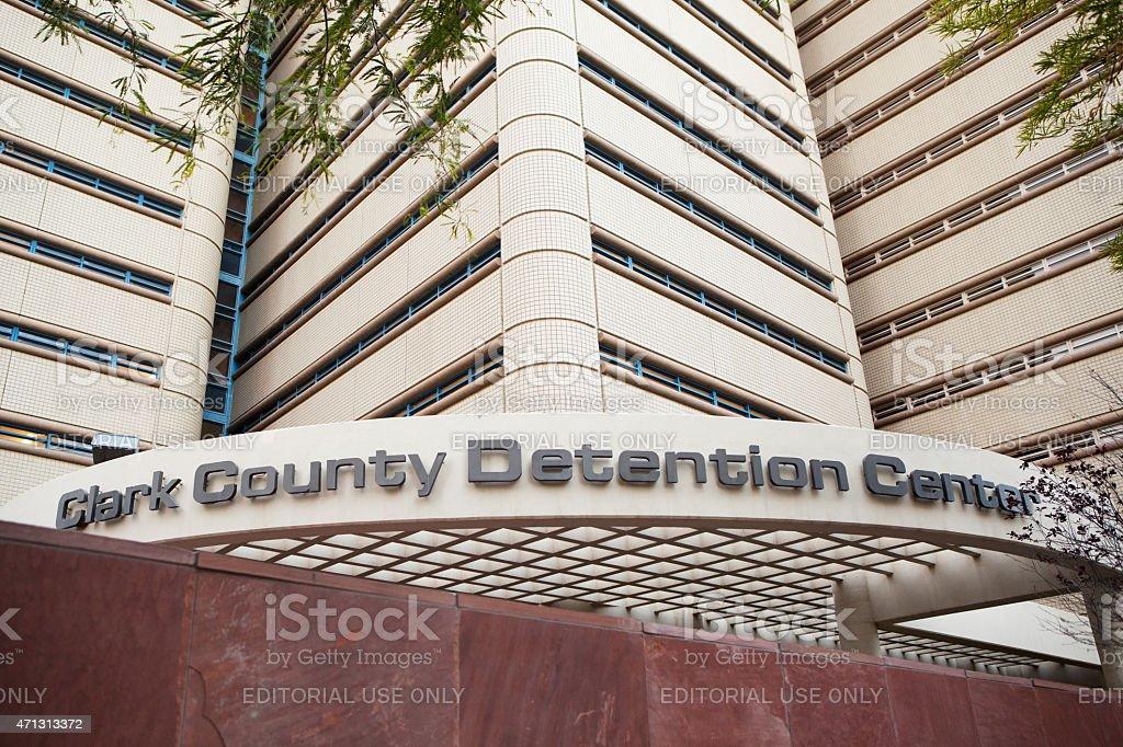 Clark County Detention Center, Las Vegas, Nevada stock photo