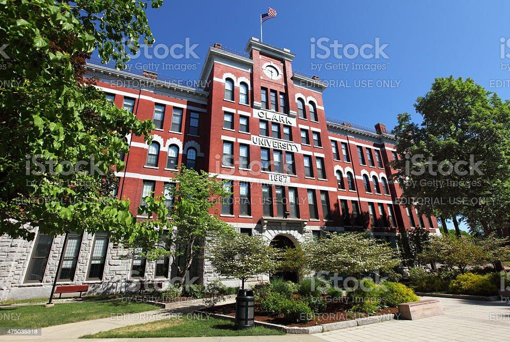 Clark University stock photo