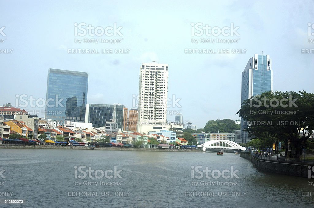 Clarke Quay stock photo