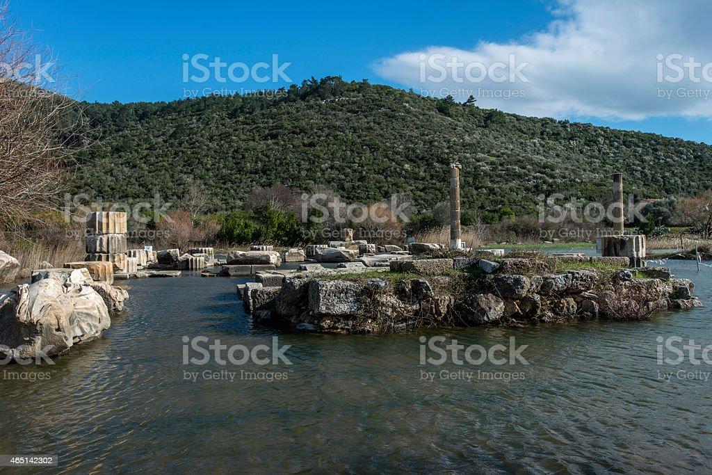 Claros, Klaros stock photo