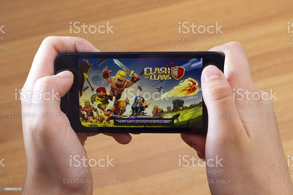 Clash of clans stock photo
