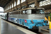 SNCF class 116 electric locomotive at Gare du Nord