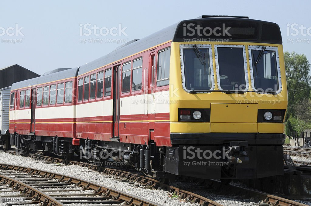 Class 141 Diesel Unit stock photo