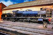 1903 2-8-0 Class 2884 Steam locomotive at Minehead UK