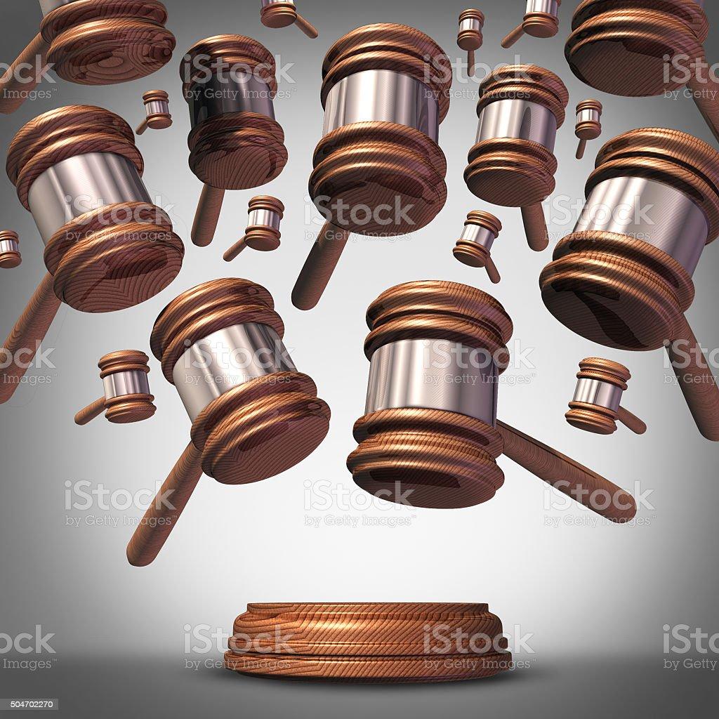 Class Action Lawsuit stock photo