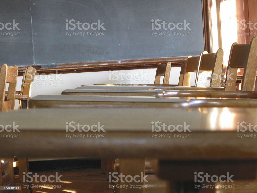 Class full of Chairs - C royalty-free stock photo