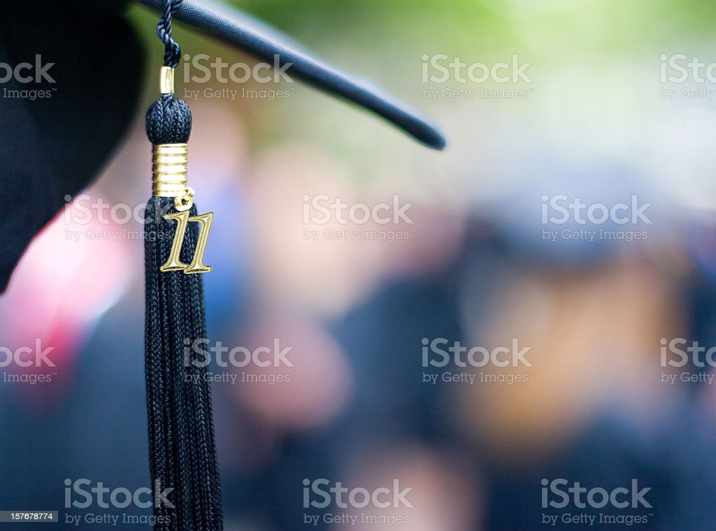Class of 2011 royalty-free stock photo