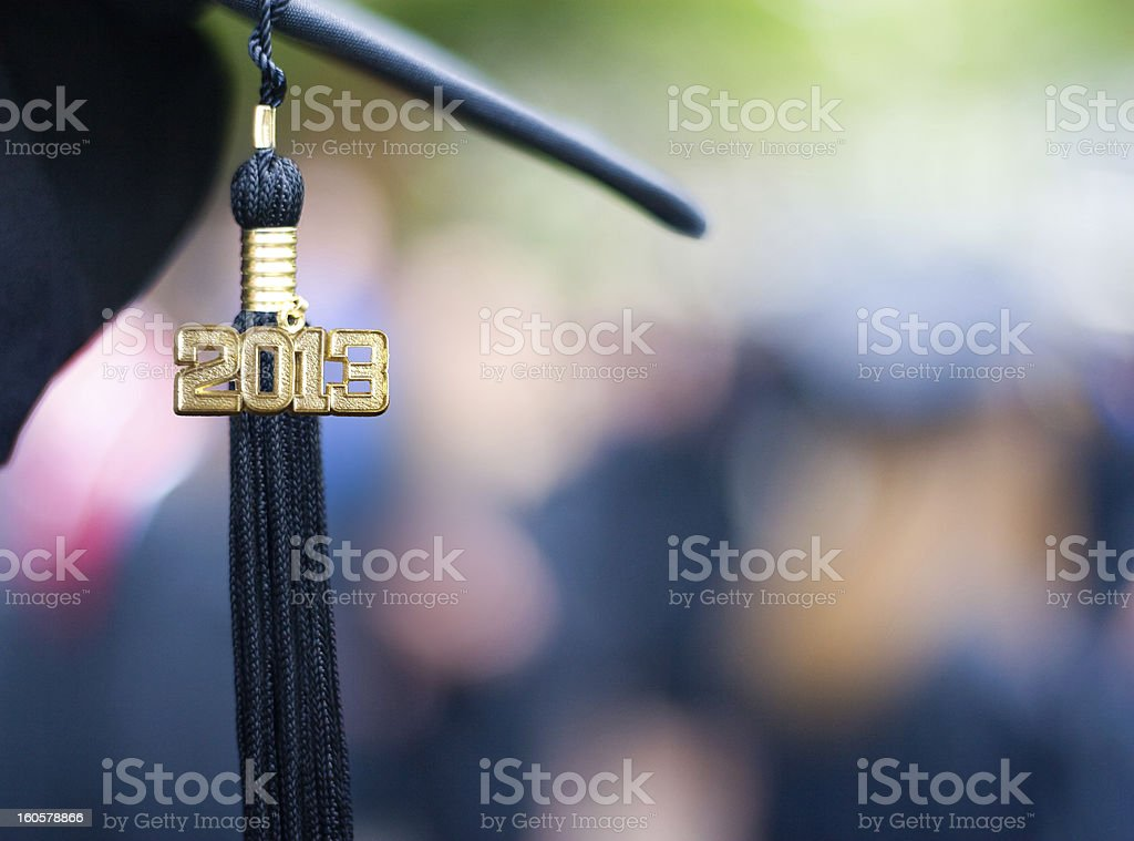 Class of 2013 royalty-free stock photo