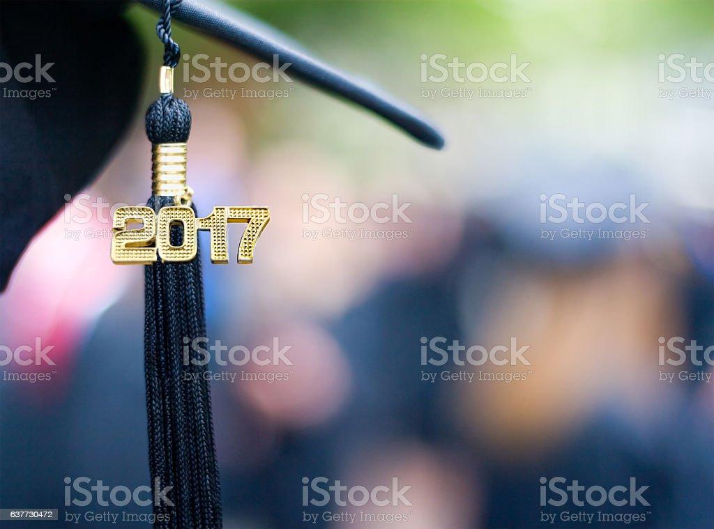 Class of 2017 stock photo