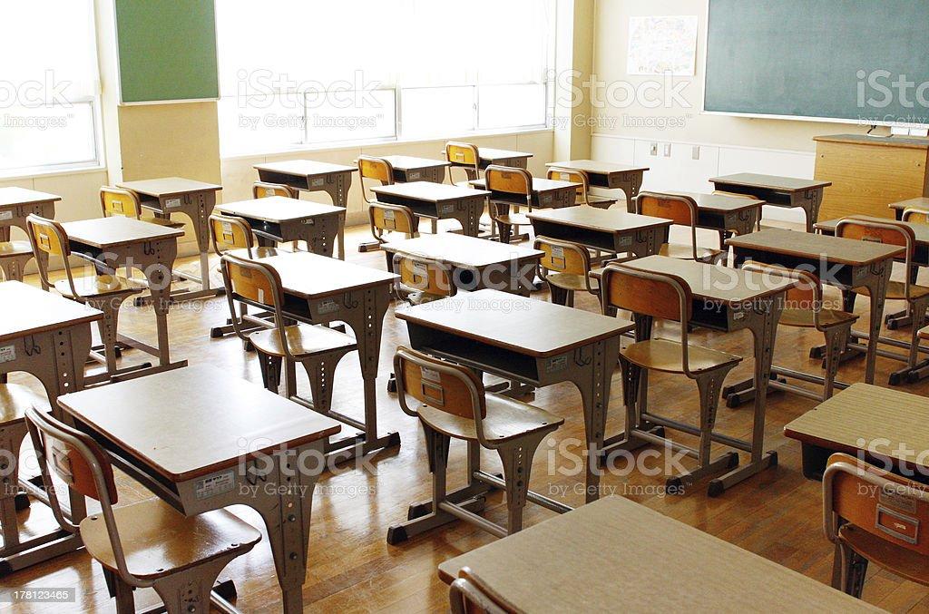 Class room stock photo