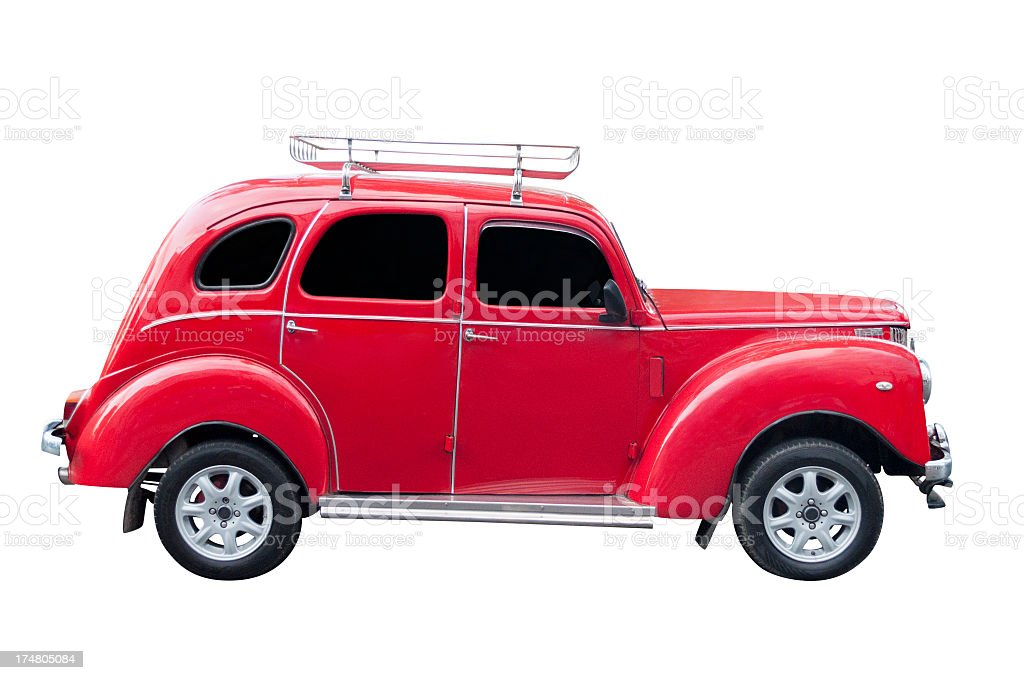 Classic 1950 Ford Prefect stock photo