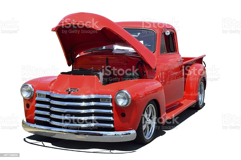 Classic 1950's Truck stock photo