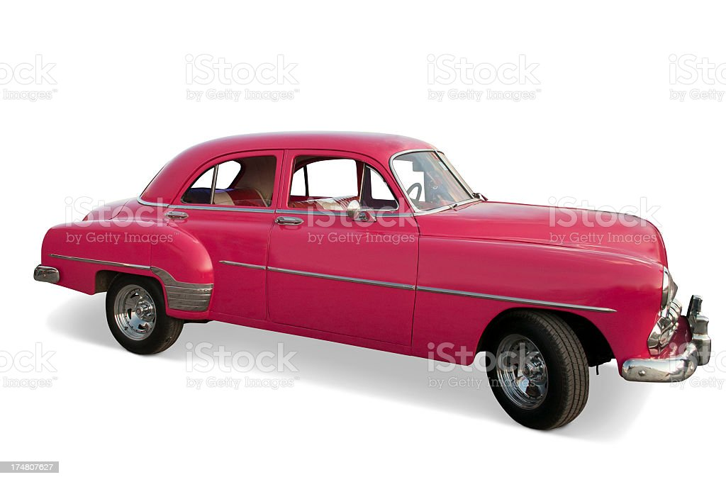 Classic 1951 Chevrolet Styleline stock photo
