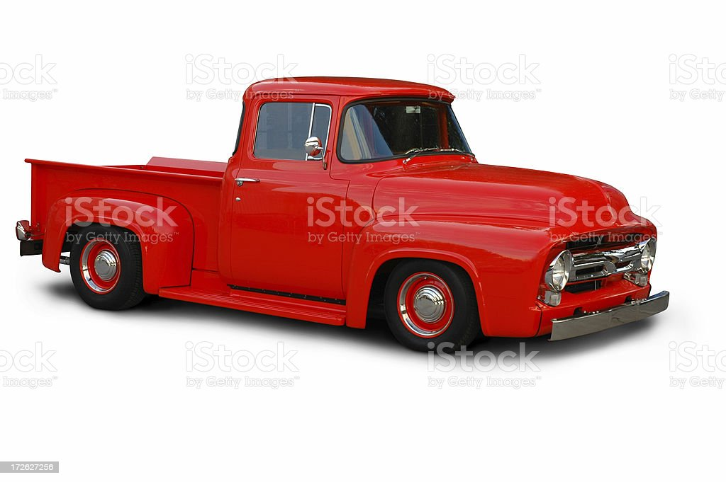 Classic 1954 Ford F100 Truck stock photo