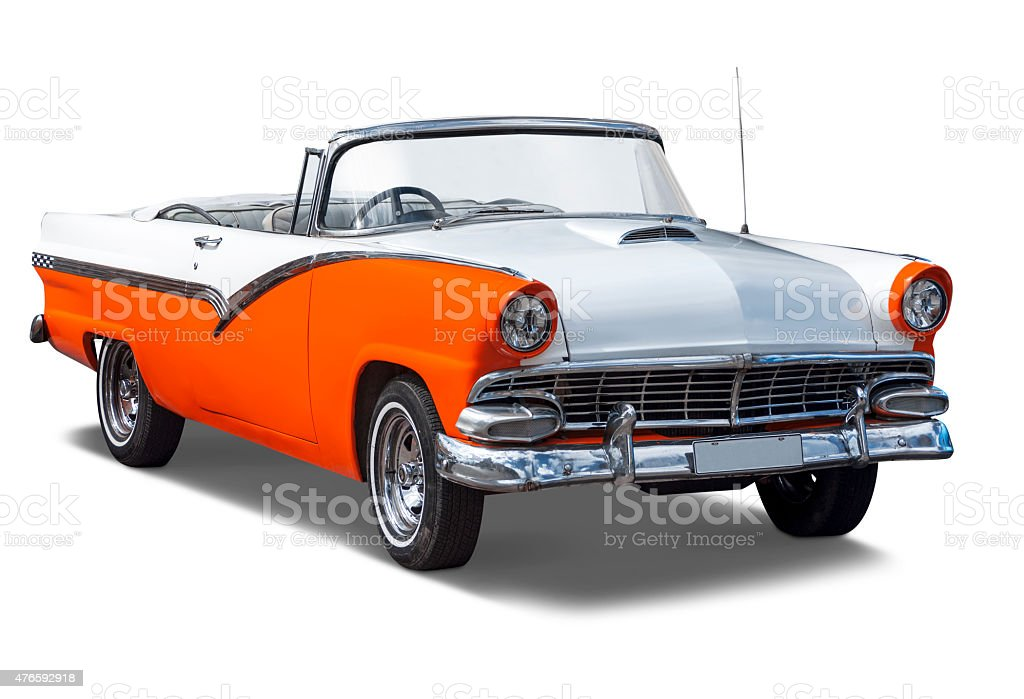 Classic 1955 Chevy Bel Air Sport Coupe stock photo