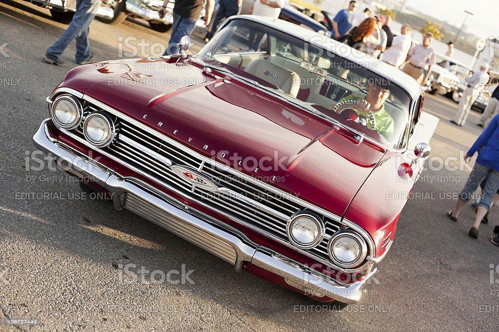 Classic 1960 Chev Impala stock photo