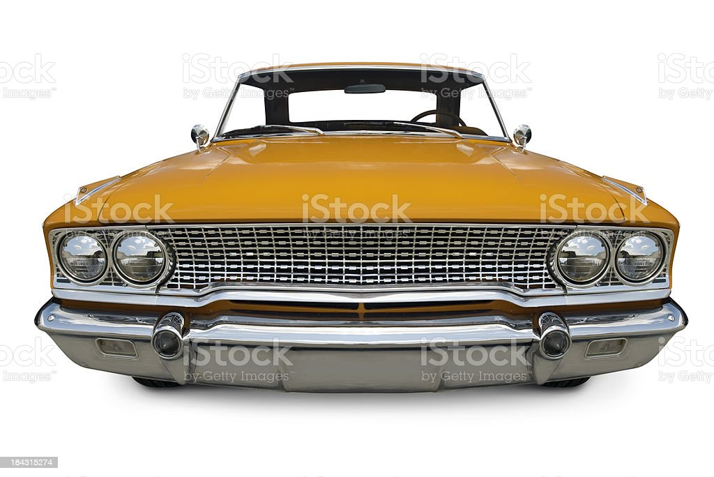 Classic 1960's Ford Galaxy stock photo
