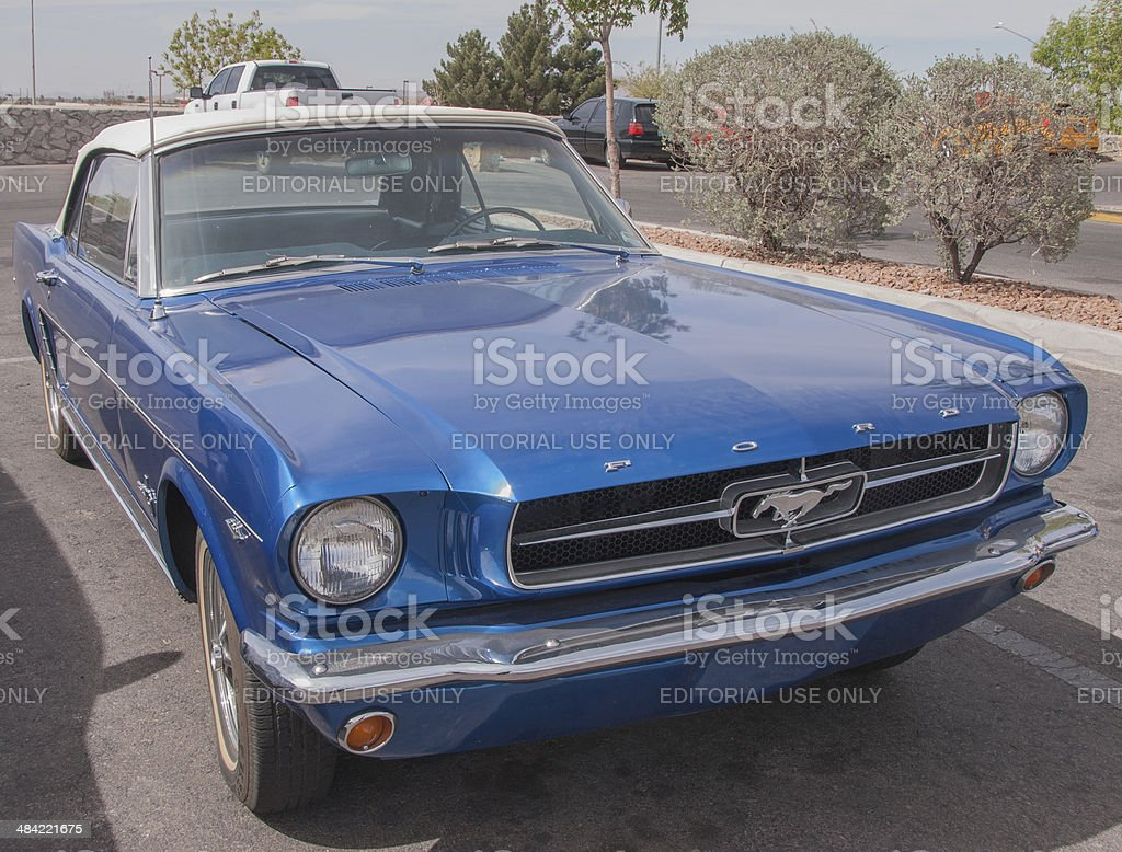 Classic 1965 Ford Mustang stock photo