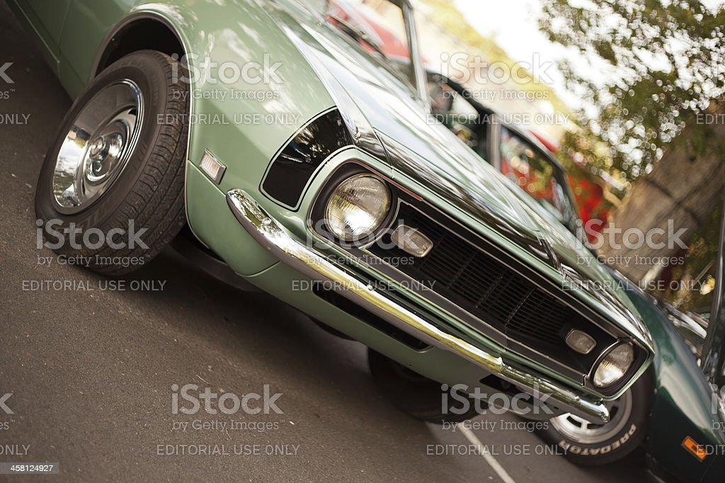 Classic 1968 Chevrolet Camaro royalty-free stock photo