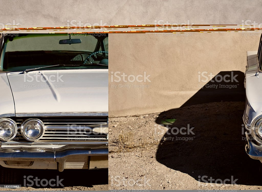 Classic 1968 royalty-free stock photo