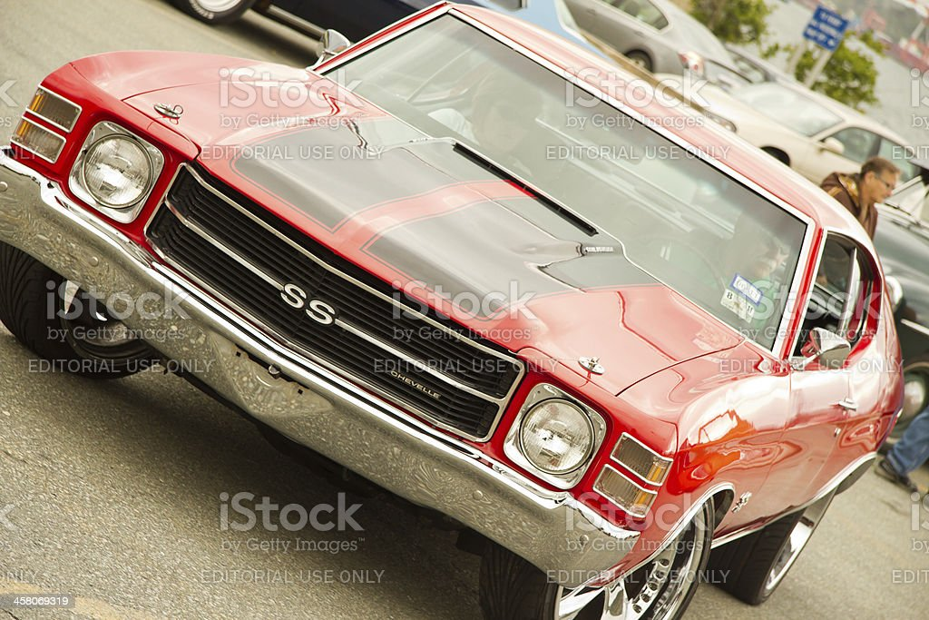 Classic 1970 Chevrolet Chevelle SS stock photo