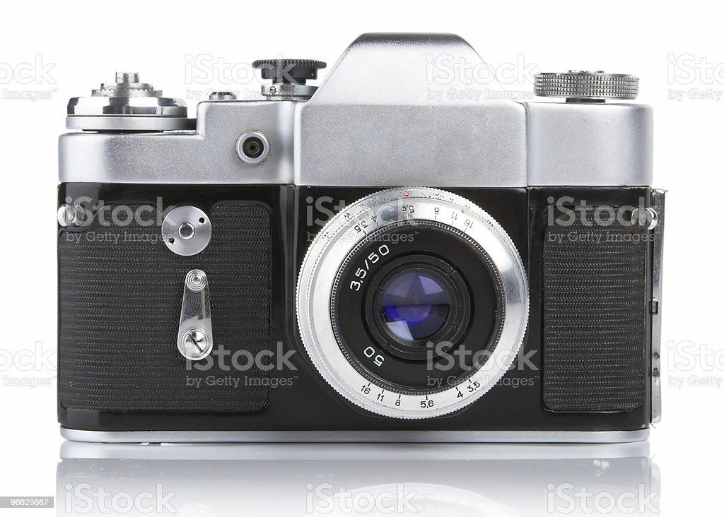 Classic 35mm Camera. royalty-free stock photo