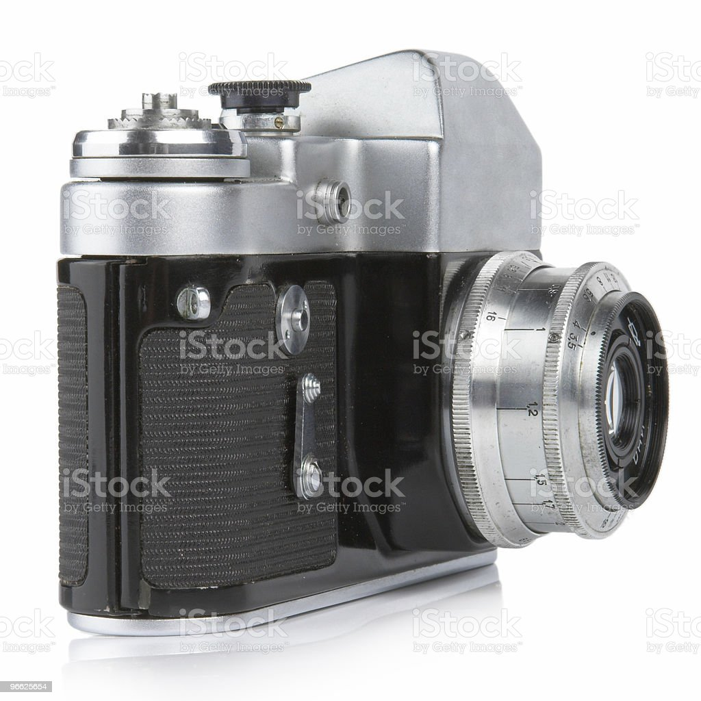 Classic 35mm Camera. Zenit-3M. royalty-free stock photo