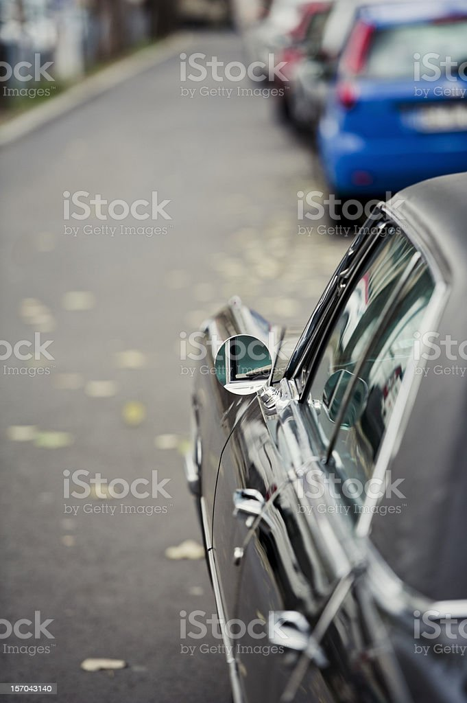 Classic 50's American Car royalty-free stock photo