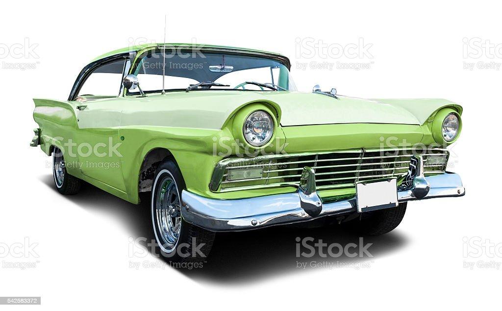 Classic 50's car stock photo