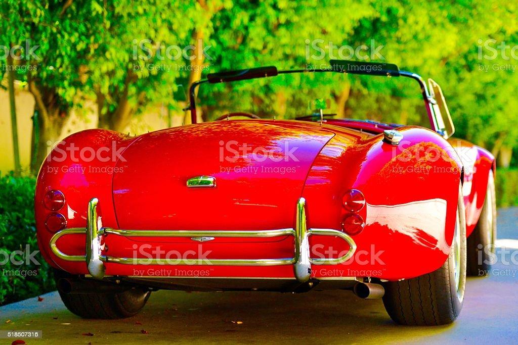 Classic American Car stock photo