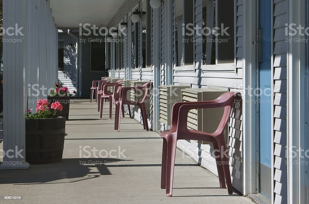 Classic American Motel royalty-free stock photo