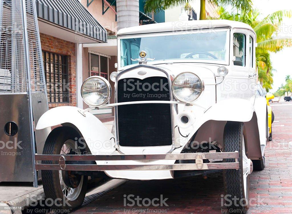 Classic Antique Automobile Ford T stock photo