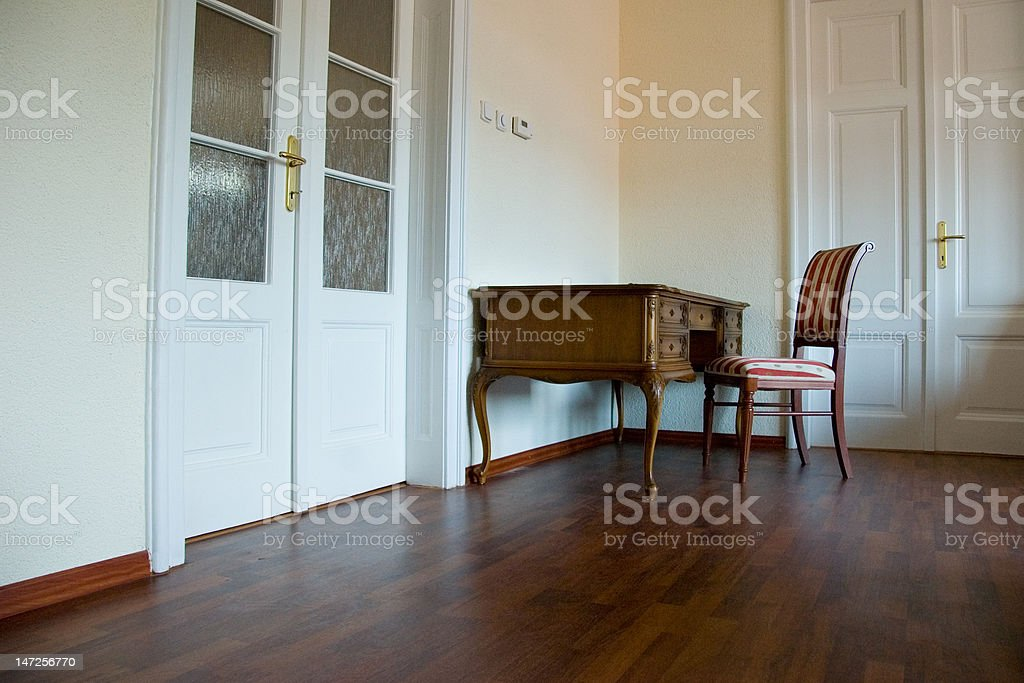 Classic antique furniture room royalty-free stock photo