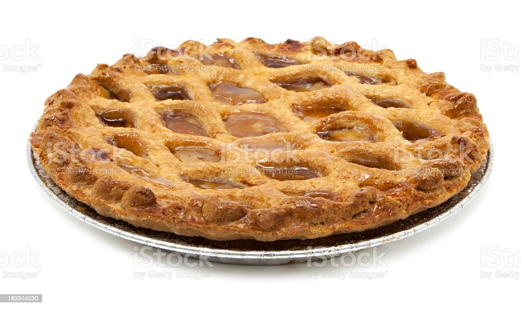 Classic apple pie stock photo
