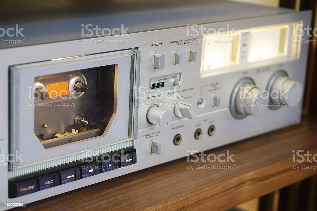 Classic Audio Equipment royalty-free stock photo