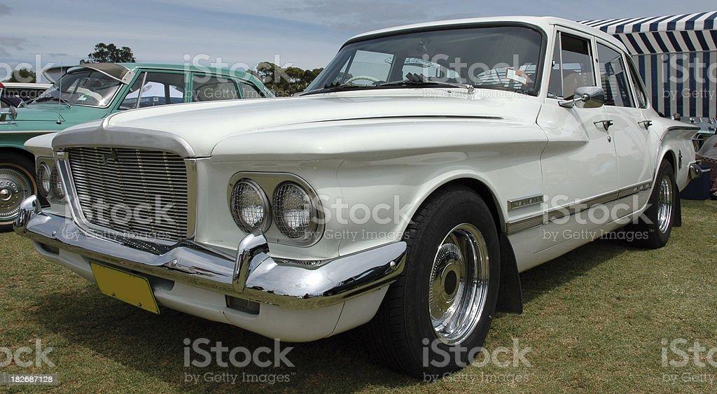Classic Australian Car, Chrysler valiant royalty-free stock photo