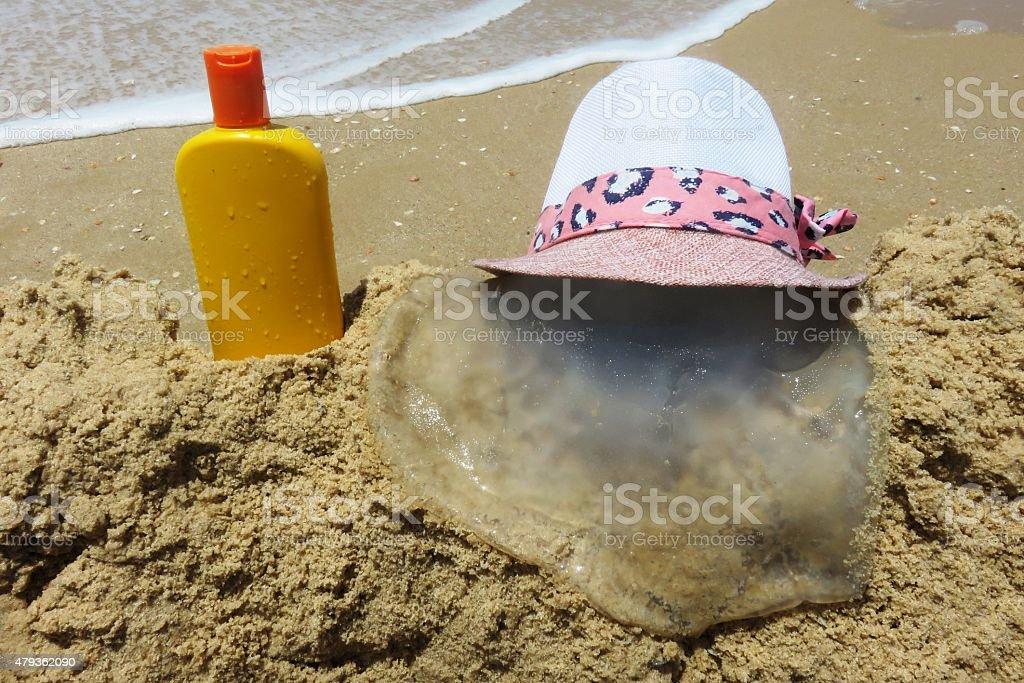Classic Beach stock photo