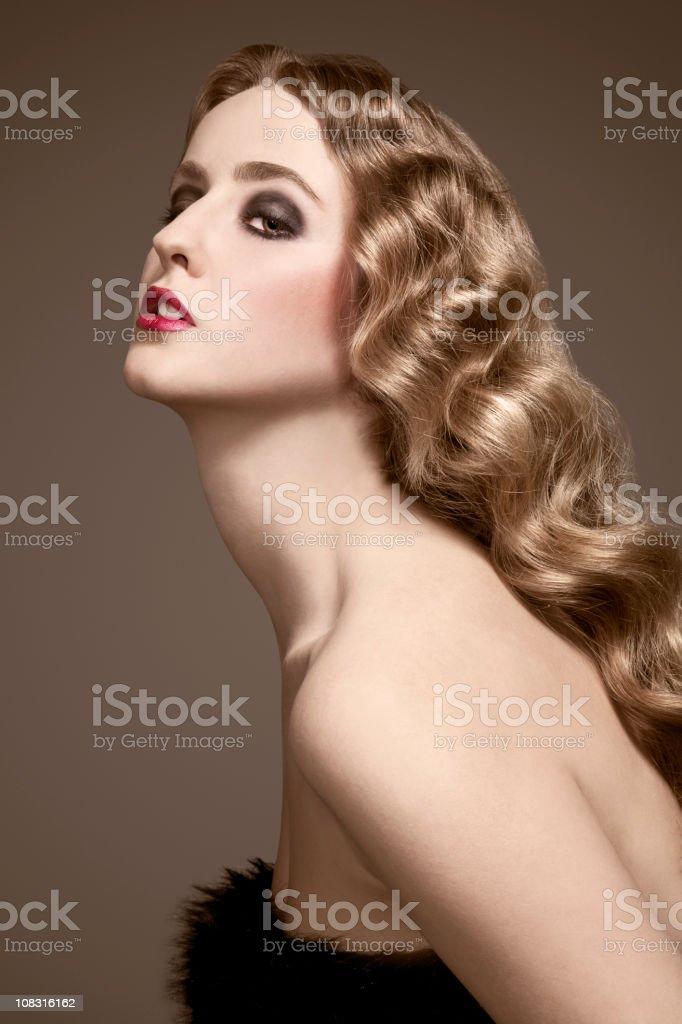 Classic Beauty royalty-free stock photo