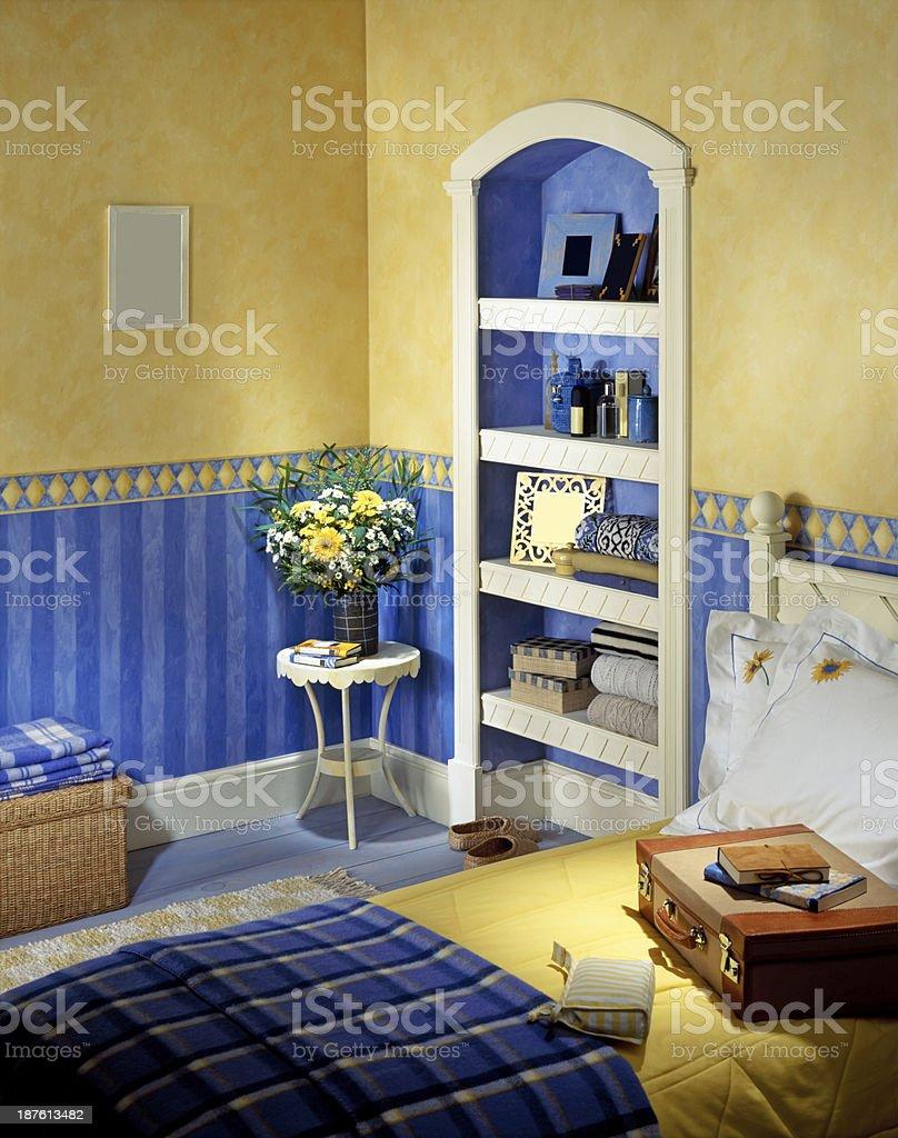 Classic bedroom interior royalty-free stock photo