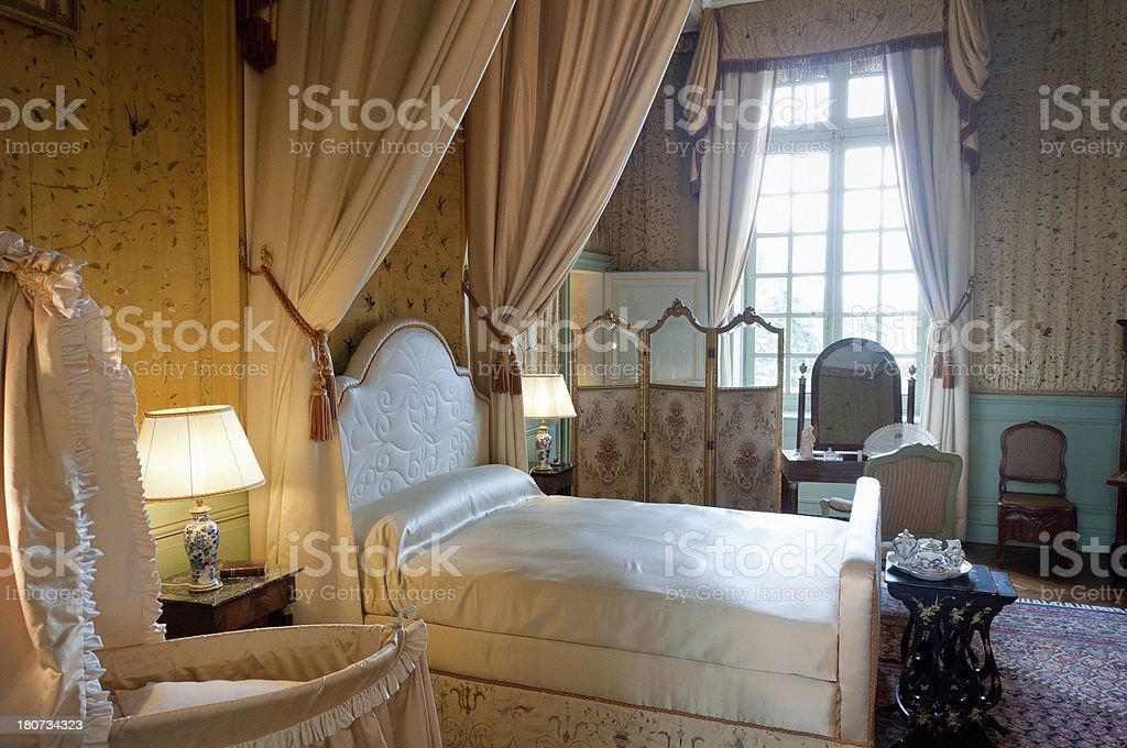 classic bedroom royalty-free stock photo