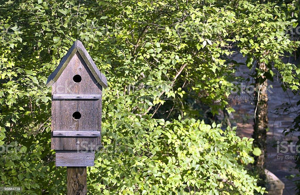 Classic Birdhouse royalty-free stock photo