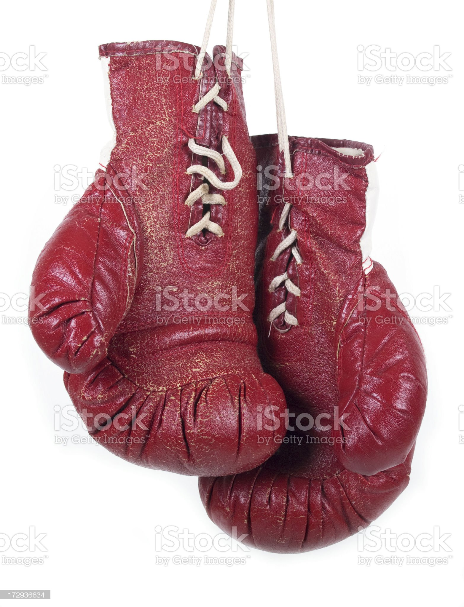 Classic Boxing Gloves royalty-free stock photo