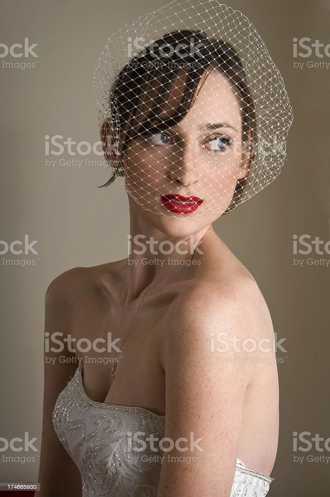 Classic Bridal Portrait royalty-free stock photo